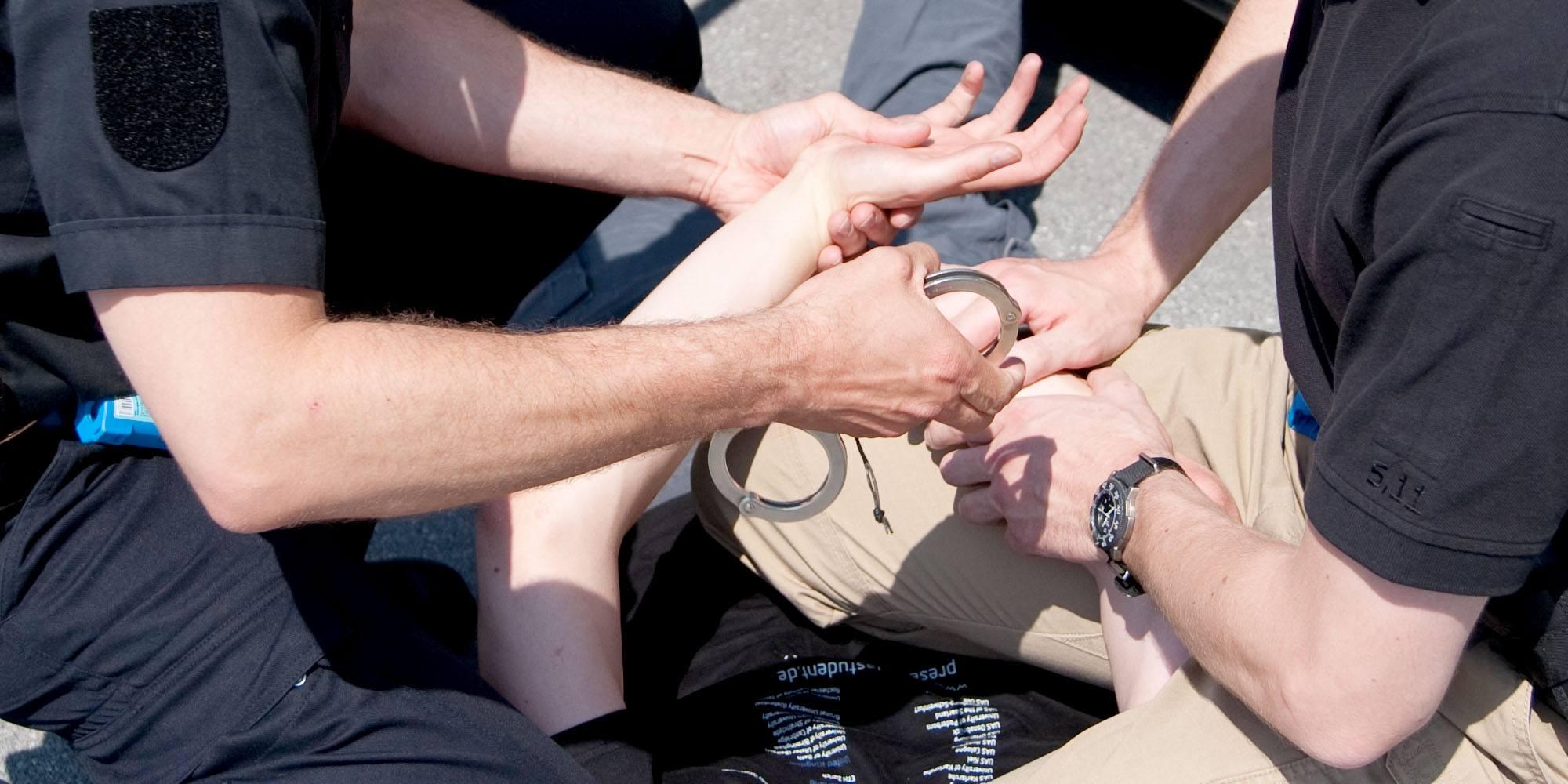 Einsatztraining für die Polizei