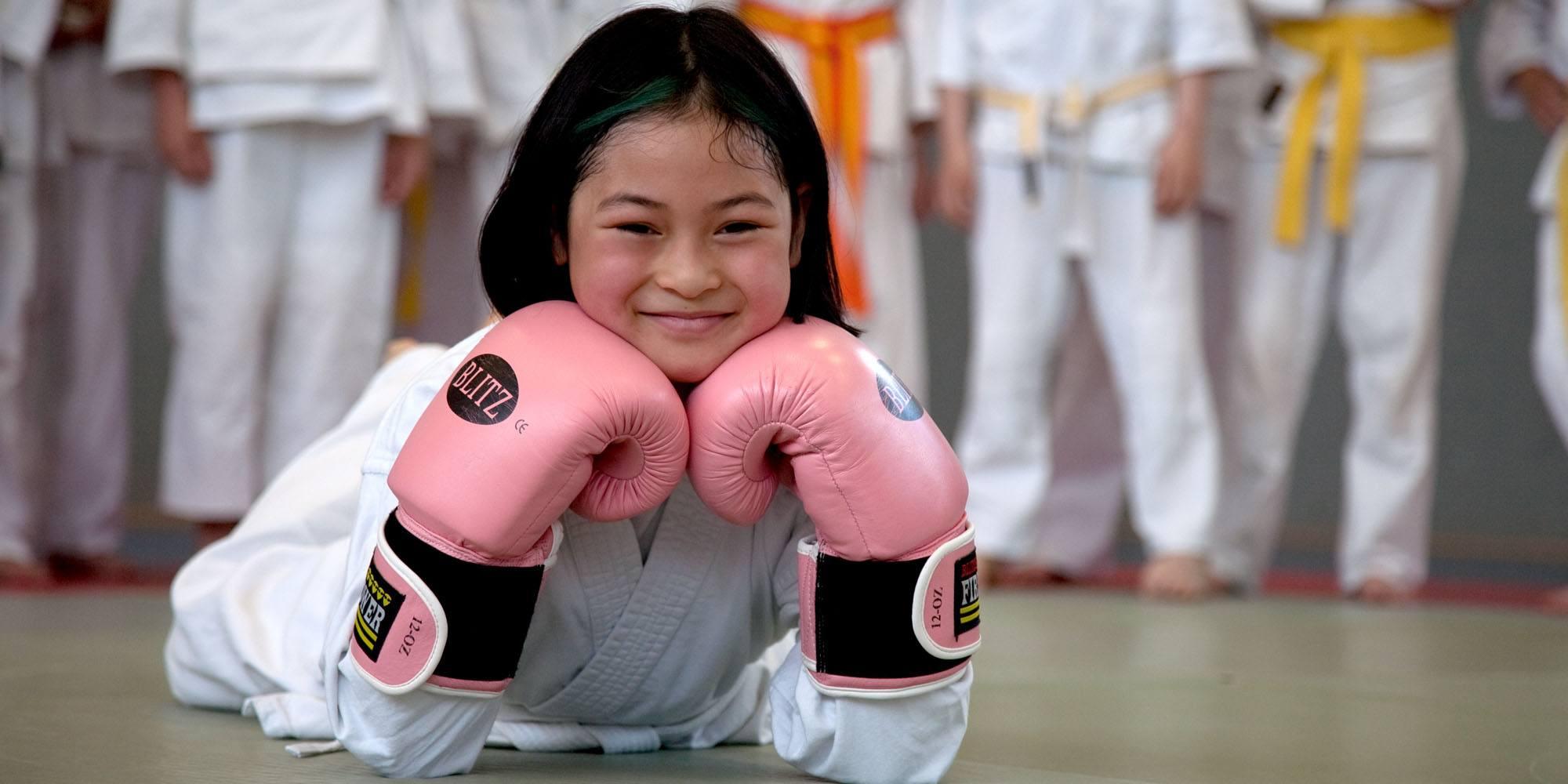 Ju-Jutsu Kindertraining